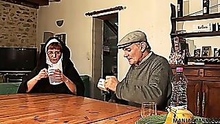 Papy Voyeur Old nun Zoranal dp   nonne bonne soeur bonne soeur zora hairy poilue