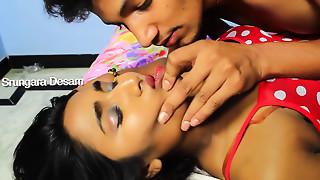 Swathi Naidu Kissing Video