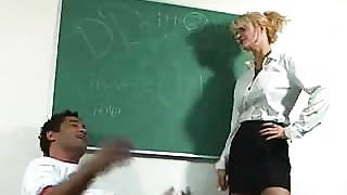 Hot Teacher fucks a fortunate Stud.F70