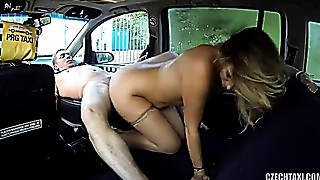 feels guilty after cabby makes her cum