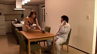 Hosaka Eri in I, In Fact, Continues Being Fucked By Boss Of The Husband