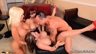 PornstarPlatinum  - Eva Notty, Tara Holiday and Hawt Vanessa