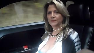52 YO Mom I'd like to screw car riding prt2