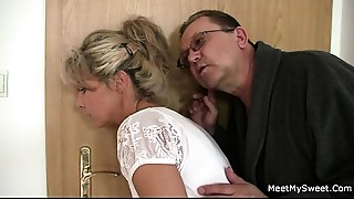 His mother and dad tricks her into sex