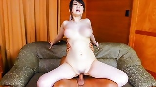 Horny Japanese slut Rie Tachikawa in Best JAV uncensored Big Pantoons scene