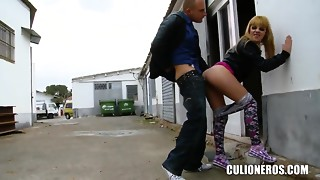 Jakeline Young slut is caught but not punished