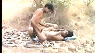 Tamil Couple Outdoors