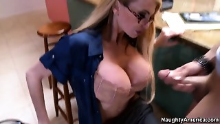 Ms. Taylor Wane seduces her youthful student at her hardcore party