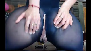 Big a-hole squirt orgasm