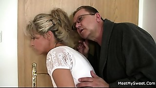 He leaves and lewd parents seduces his hot GF