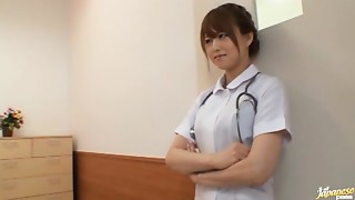 Akiho Yoshizawa Japanese naughty nurse has sex in hospital