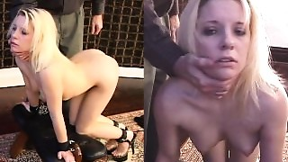 Supple slaves First training session, anal-copulation and fingering