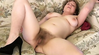 Josey is a sexy unshaved woman