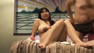 Busty Japanese preggo acquires fucked stupid