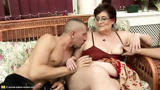 Desirous mature and young couples at pissing gangbangs