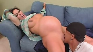 nancy-pregnant and fucked into ass
