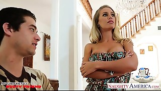 Busty honey Nicole Aniston receives screwed