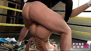 PURE XXX FILMS Lustful Teenie Copulates the boxing instructor