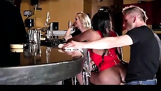 anal dance invasion on the bar
