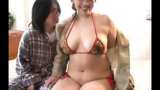 Censored thick asian woman shag
