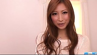 Smooth love making along perky scoops Reira Aisaki