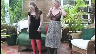 Vintage Village Ladies Summer Stripping Joy
