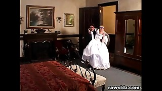 Newly Wed Bride Gets Dominated Naughty Dp Fuck