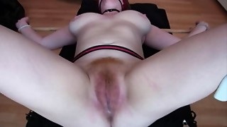 corpulent redhead Video14 gyno scrutiny love tunnel torture