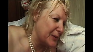 FRENCH Mature n5 golden-haired bbw arse stab mommy MILF and 2 bi guys