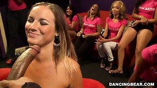 Small Bride Sucks & Fucks At Her Bachelorette Party