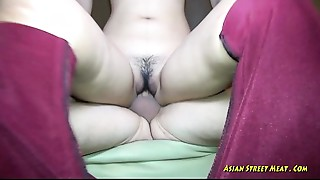 Oriental Jizz In Black Underclothes