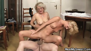 That guy finds his mommy and dad fucking his GF
