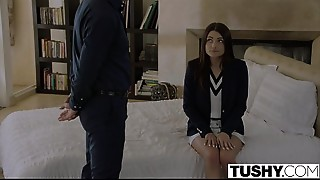 TUSHY College Student Receives Punished by Professor