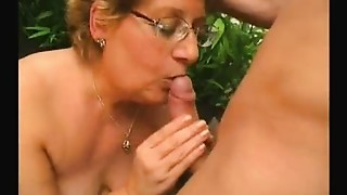 Plump Aged slut Can't live out of Younger Rod