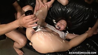 Her slick and juicy wet crack getting toyed waxed and fucked