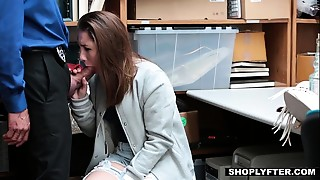 Shoplyfter - Cute Teen Fucks Her Way Without Trouble