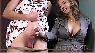 Domina T: EPIC Spunk fountain Compilation!
