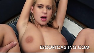 Escort With Big Natural D Cup Mounds Anal