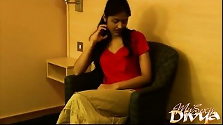 Desi Indian Young slut Cuties Hindi Bawdy Talk Home Made HD Porn Video