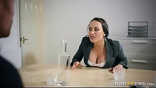 Brazzers - Mea Melone gives some head to acquire a head