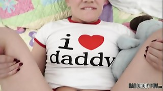 For FATHER'_S DAY Play Time, She Craves Daddy'_s Schlong