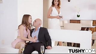 TUSHY Riley Reid and Adriana Chechik anal dance gapes