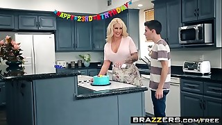 Brazzers - Mother Got Bazookas -  My Friends Drilled My Mother scene starring Ryan..