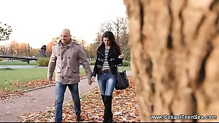 Casual Legal age teenager Sex - Anal-copulation riding Alexi Star on a First date