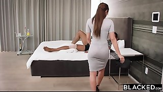 BLACKED Nurse Can'_t Resist BBC On A House Call