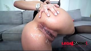 Big A-hole slut Aaliyah Hadid is a BEAST.....1st ever DP - Took it like a Fucking