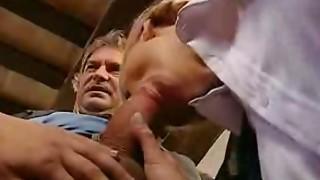 Italian schoolgirl arse stab lesson