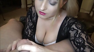 Oh U Want to Cum? Awe Not Yet, I Dont Want to Mess Up My Lipstick! POV Edging