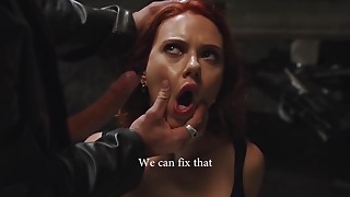 SCARLETT JOHANSSON GIVING Oral-sex
