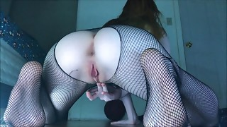 Ripped Fishnets & Stuffing The one and the other of my Lewd Holes